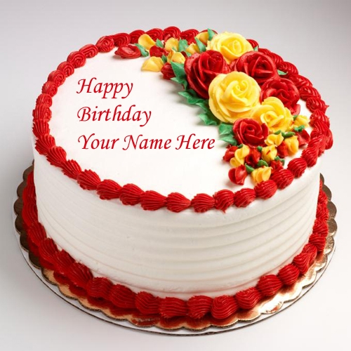 Birthday Cakes Write Your Name On Online Pictures