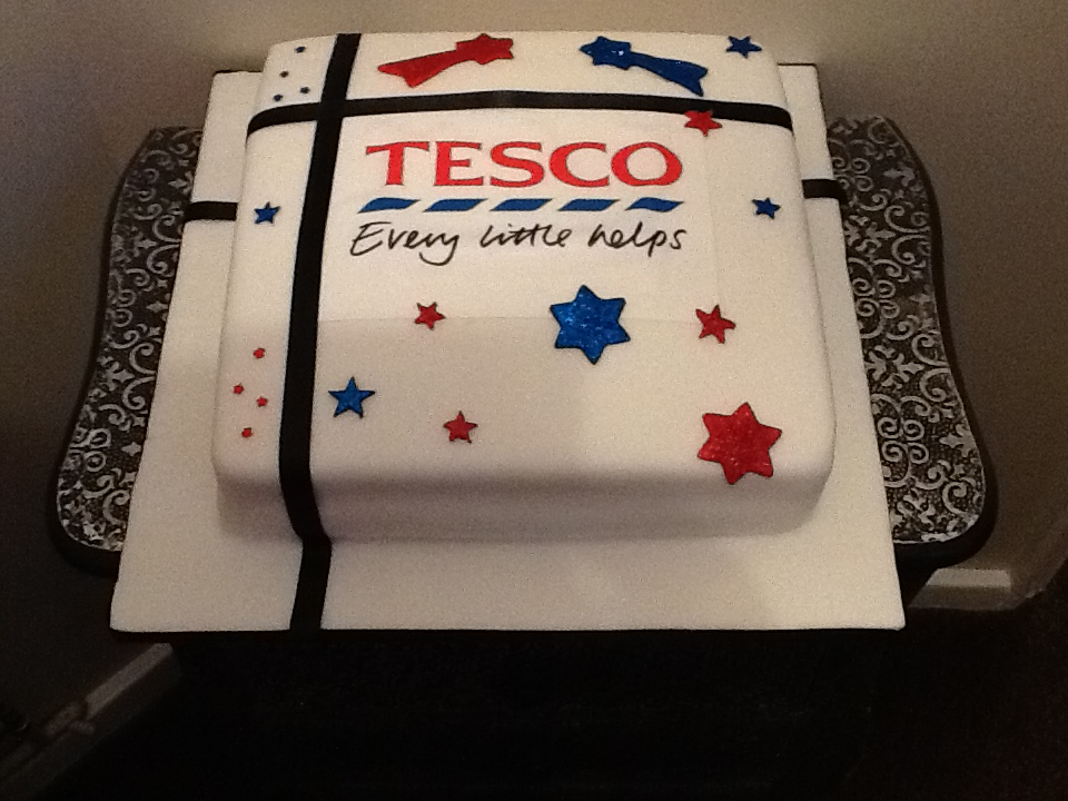 Belle Birthday Cake Tesco