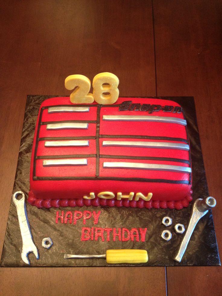 Toolbox Birthday Cakes