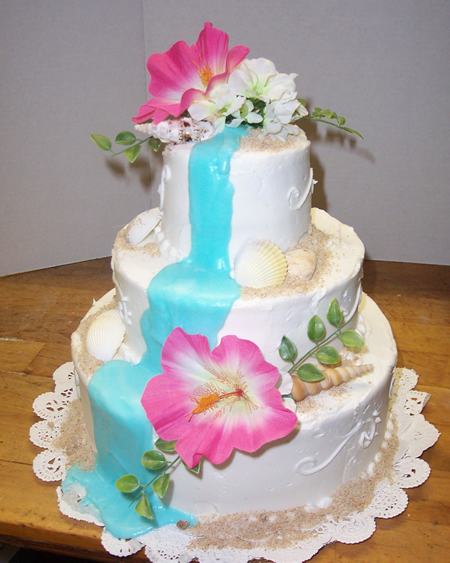 Tropical Wedding Cakes The Specialiststhe