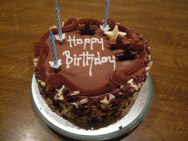 White Chocolate Birthday Cake Marks And Spencer Cake Image