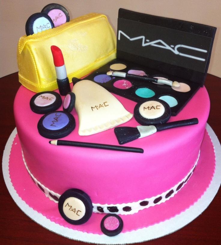 Торт с косметикой из мастики купить купить набор косметики nyx
