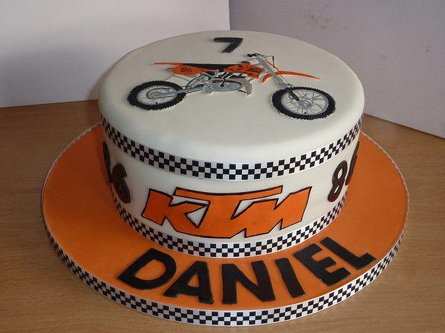 Motocross Birthday Cakes