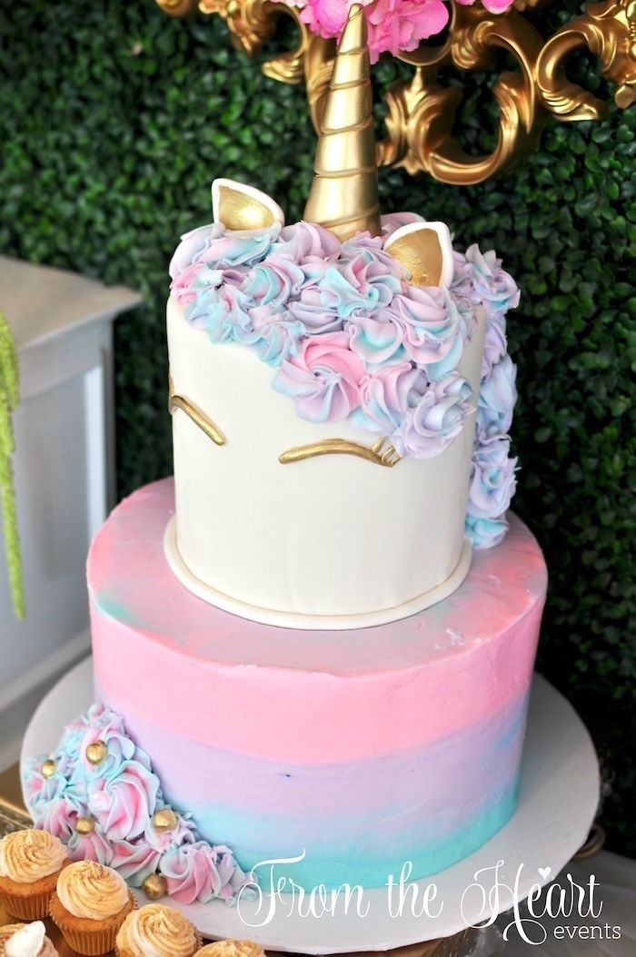 Best 25 Unicorn Birthday Cakes Ideas On Pinterest