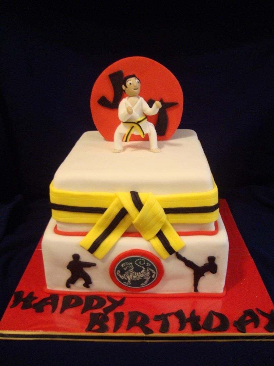 Karate Birthday Cakes