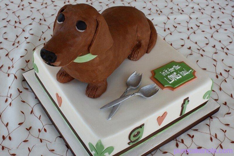 Dachshund Birthday Cakes