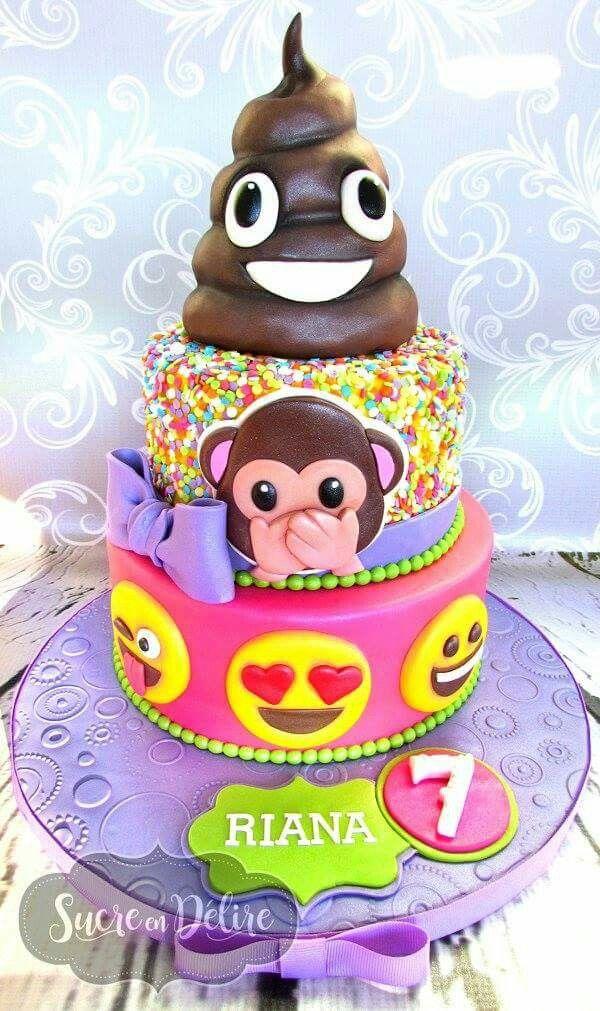 25 Best Ideas About Emoji Cake On Pinterest Birthday