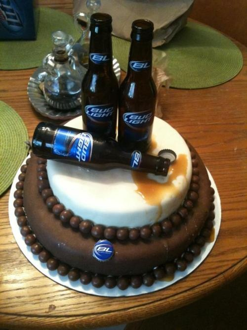 Bud Light Birthday Cake Perfect For A Guys 21st