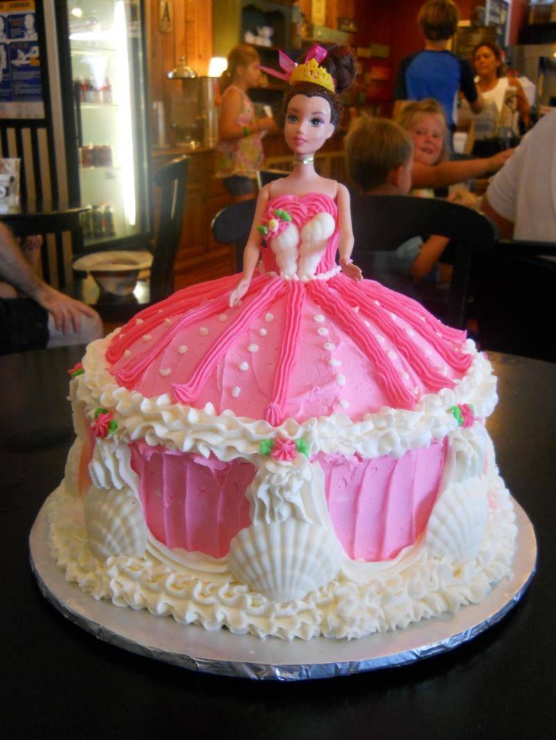 Barbie Wedding Cakes