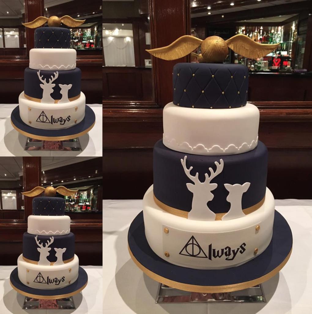 Hogwarts Wedding Cakes