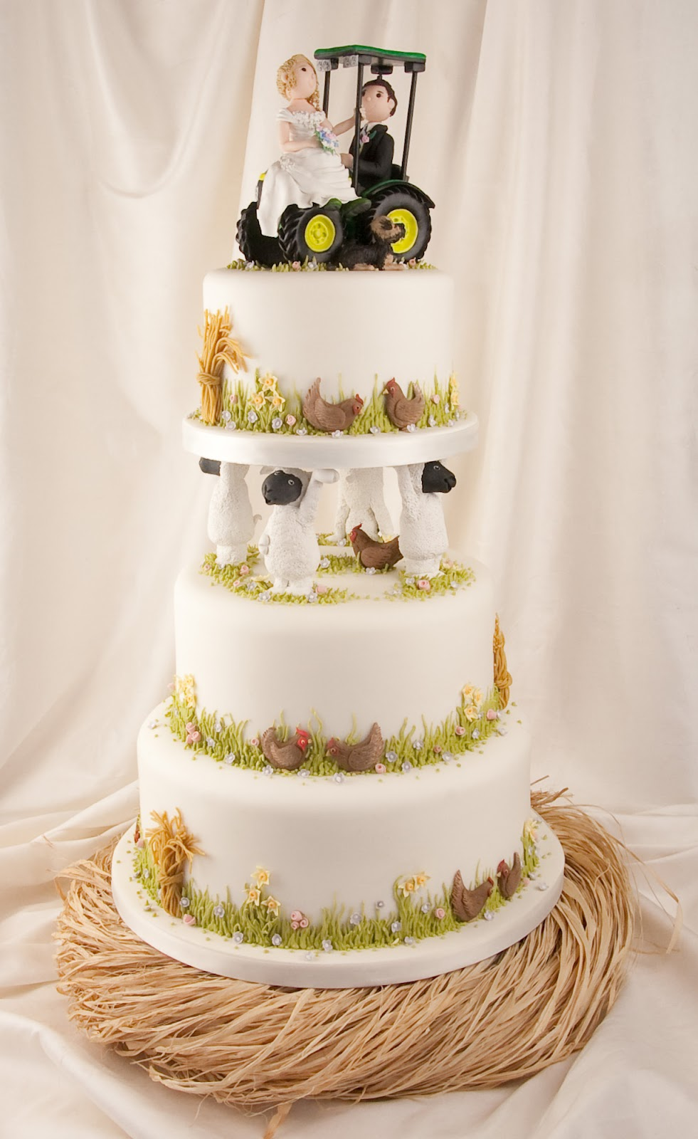 Farm Wedding Cakes