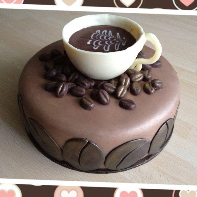 Coffee Birthday Cakes