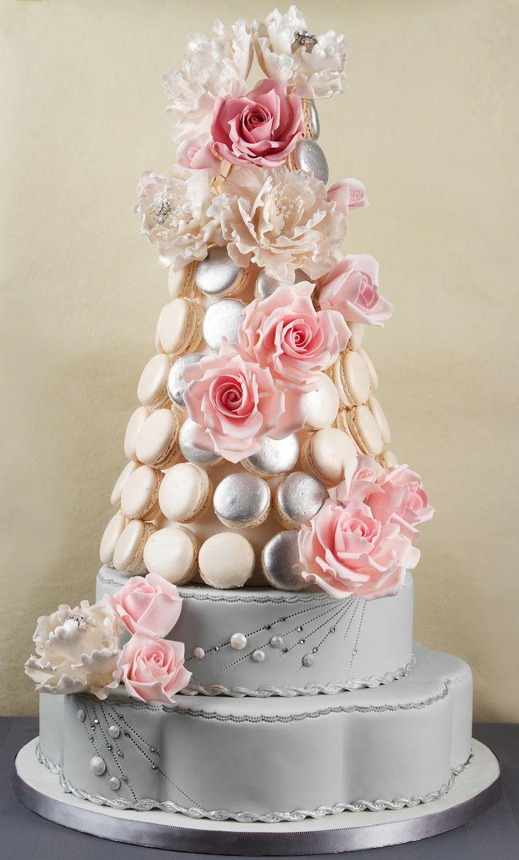 Macaron Wedding Cakes