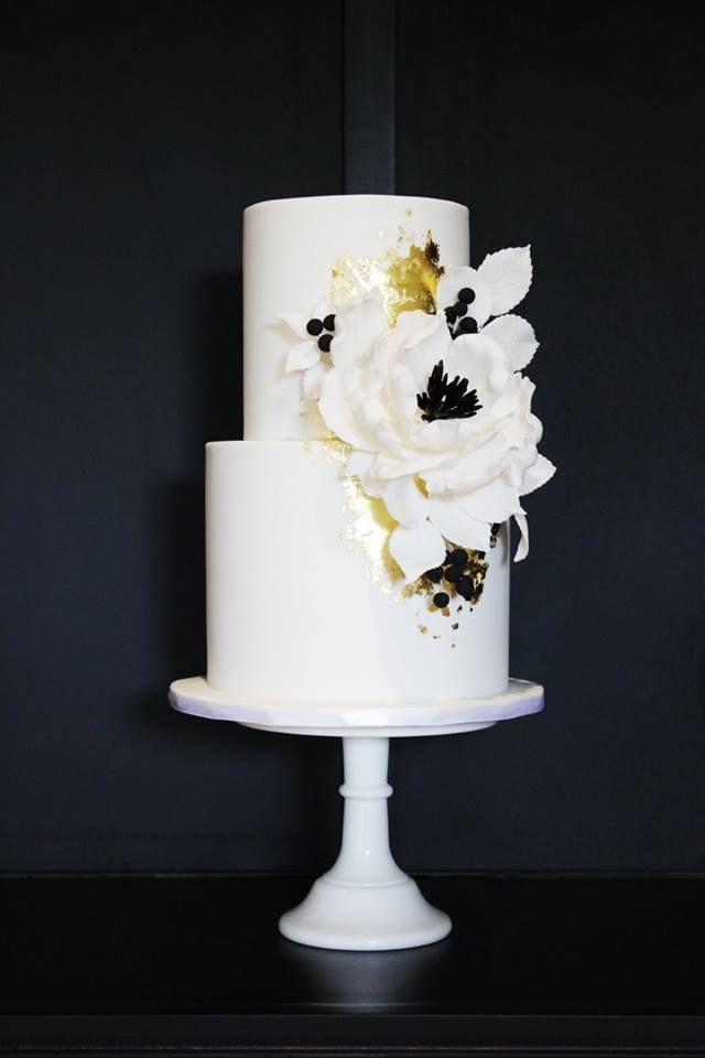 modern wedding cake designs contemporary wedding cakes 17473