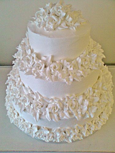 Icing Wedding Cakes