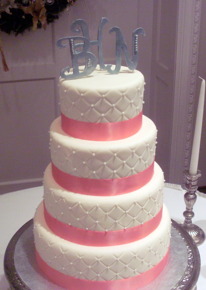 Quilted Wedding Cakes