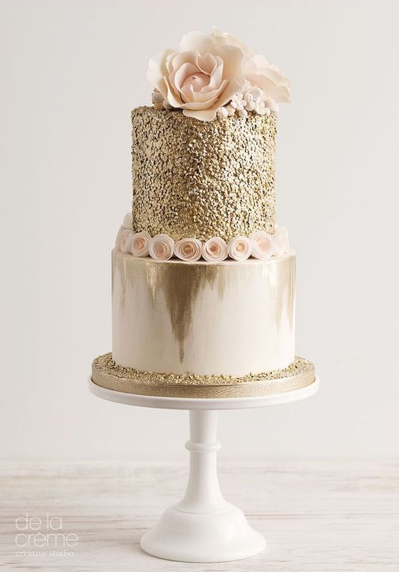 Glitter Birthday Cakes