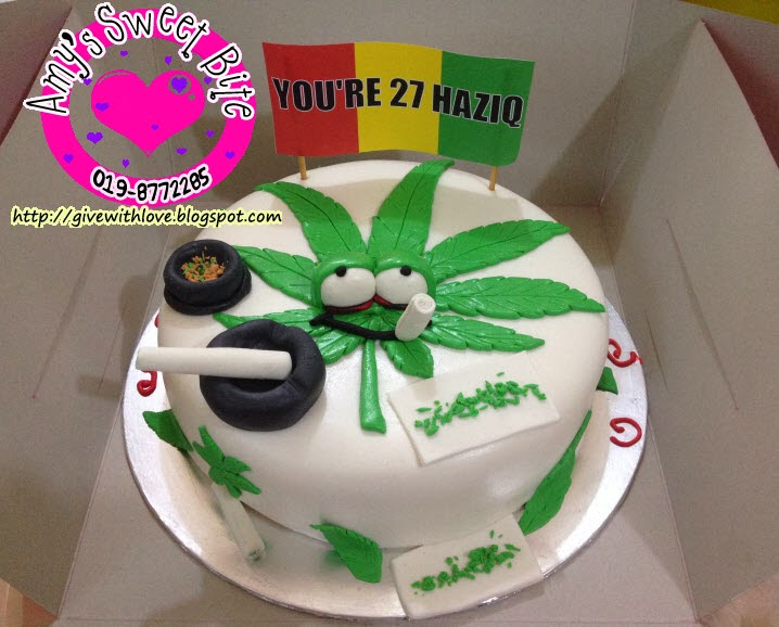 Marijuana Birthday Cakes
