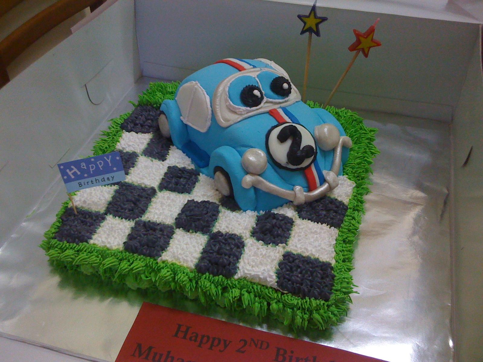 Herbie Birthday Cakes