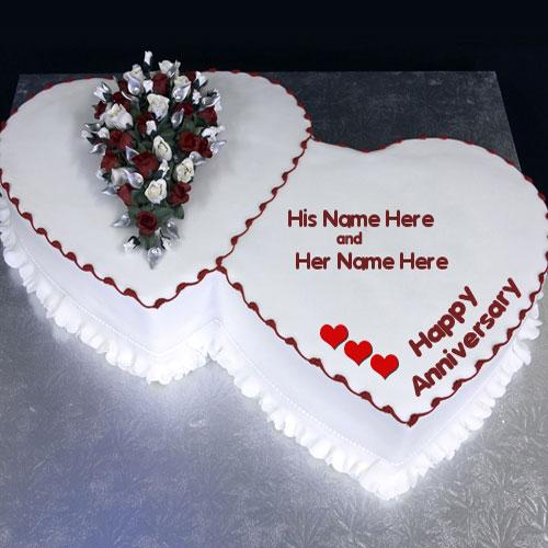 Happy Anniversary Cakes
