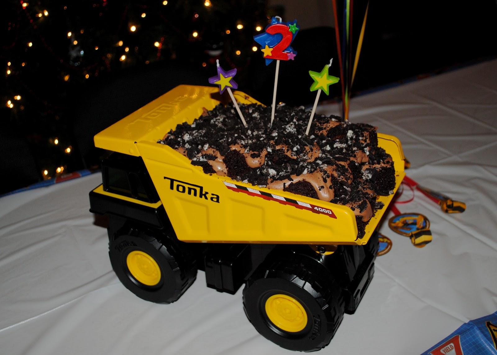 Truck Birthday Cakes