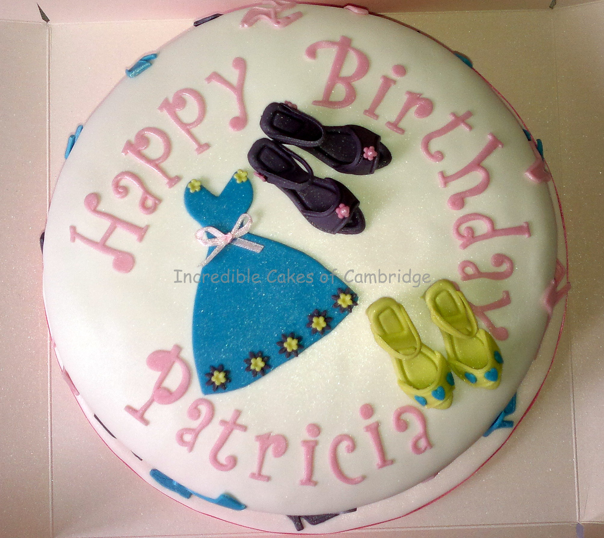 Frock Birthday Cakes