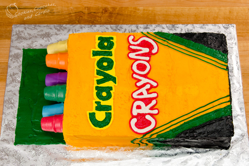 Crayon Birthday Cakes