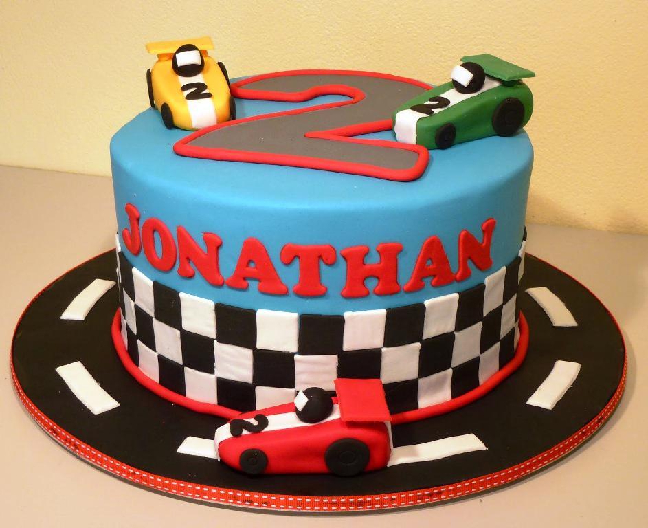 Racecar Birthday Cakes