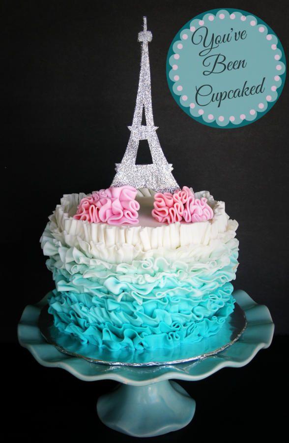Parisian Birthday Cakes