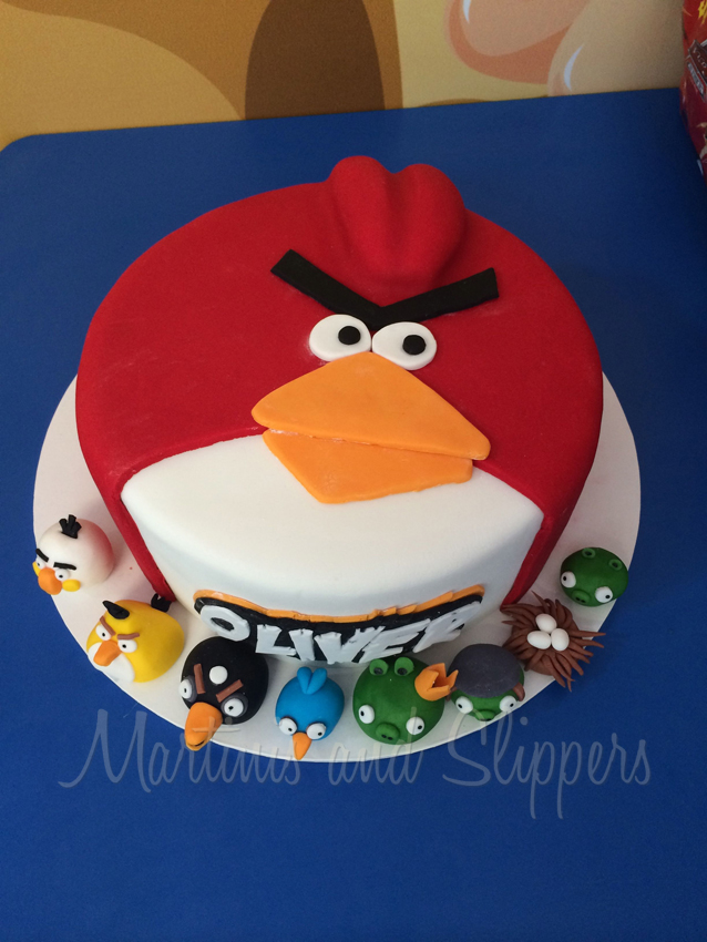 Angry Birthday Cakes
