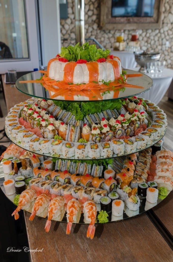 Sushi Wedding Cakes
