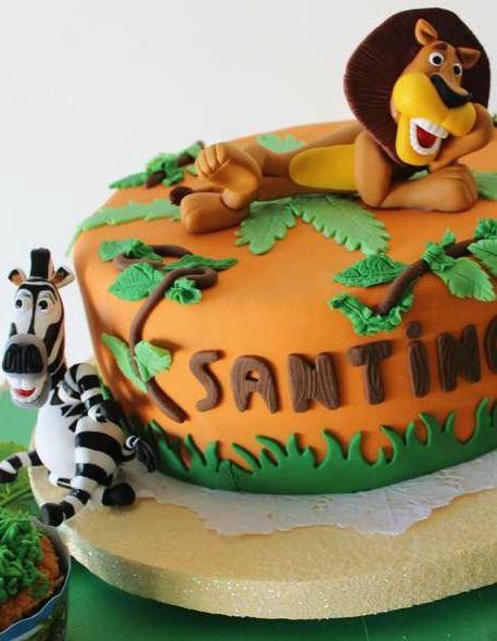 Madagascar Birthday Cakes