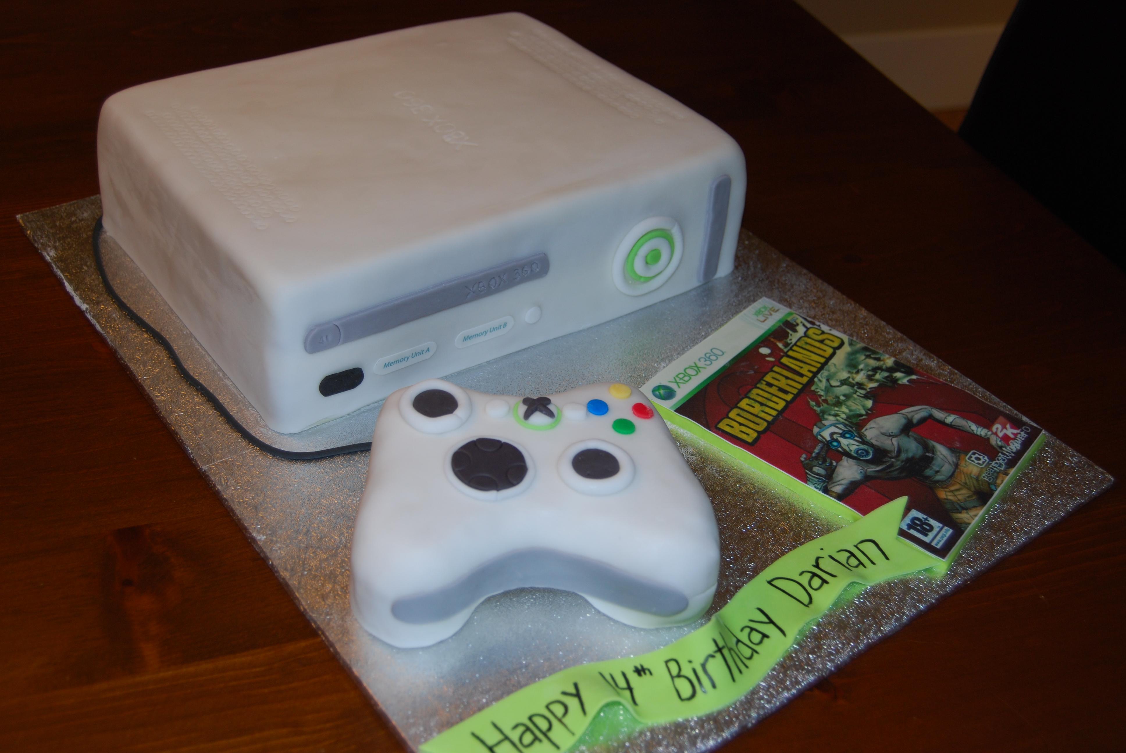 Game Birthday Cakes