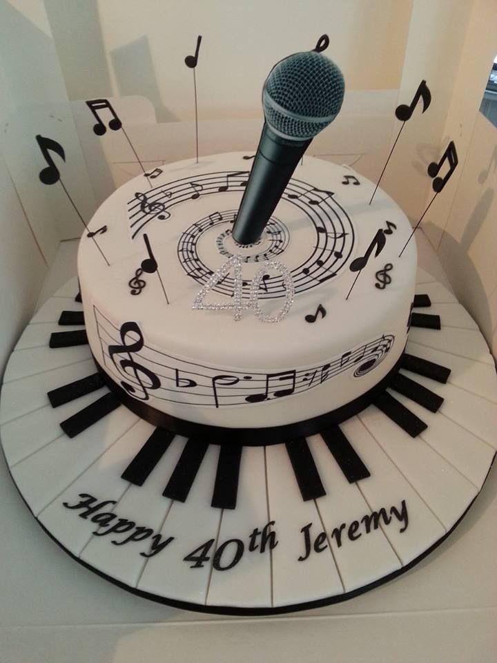 Music Birthday Cakes