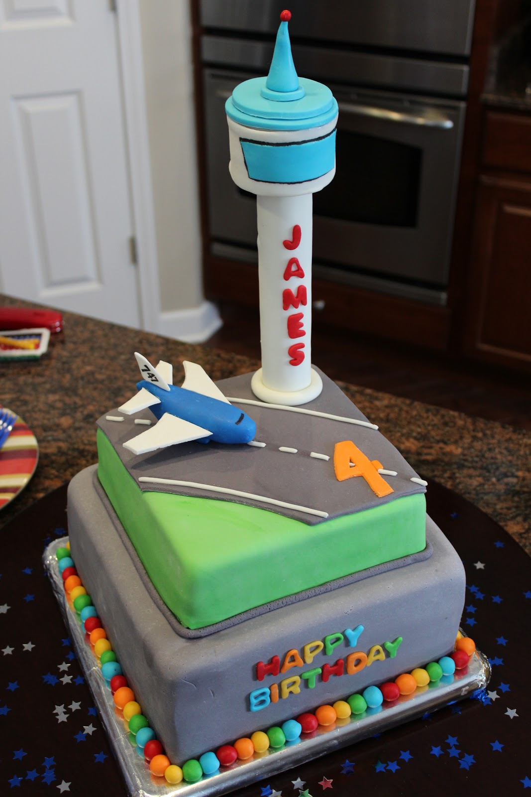 Airport Birthday Cakes