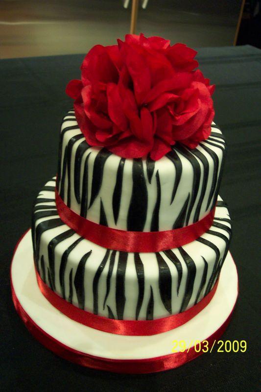 Zebra Birthday Cakes