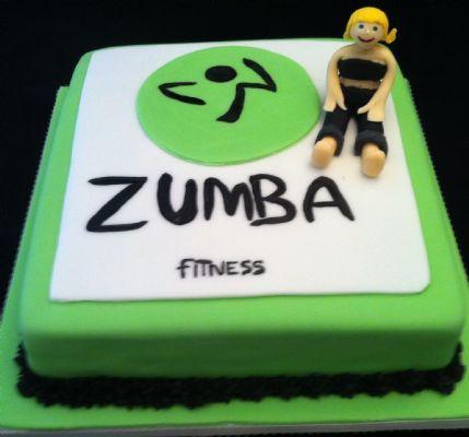 Zumba Birthday Cake Images The Cake Boutique