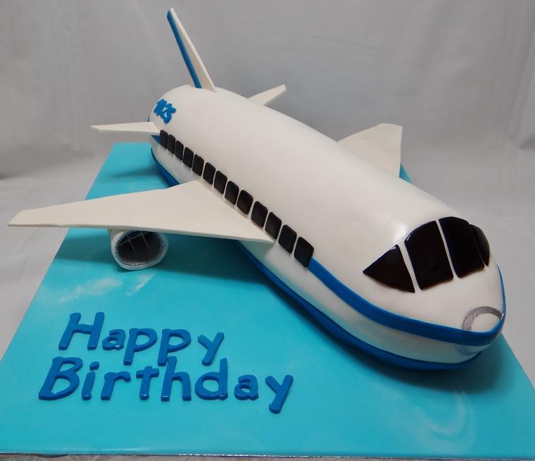 Airplane Birthday Cakes