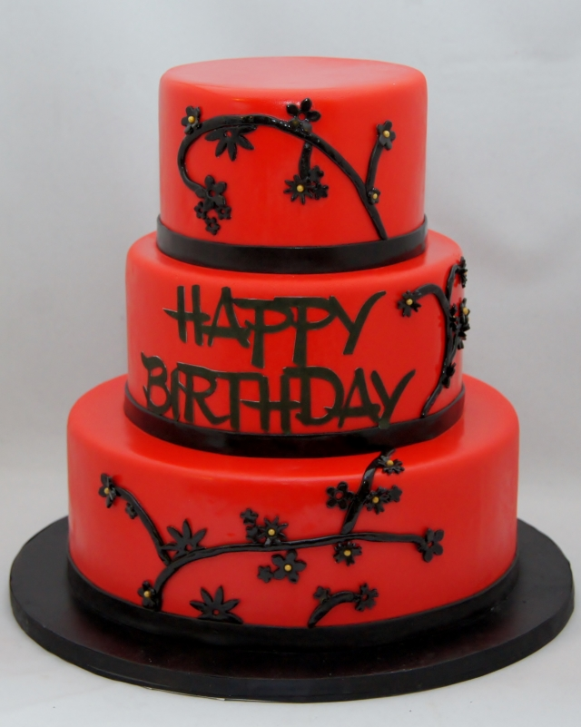 Red Birthday Cakes