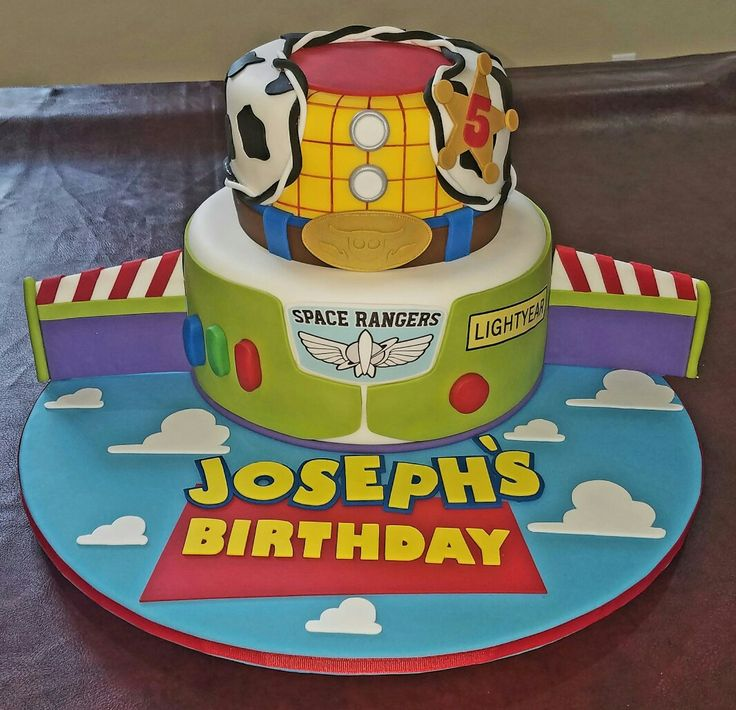 17 Best Ideas About Toy Story Cakes On Pinterest