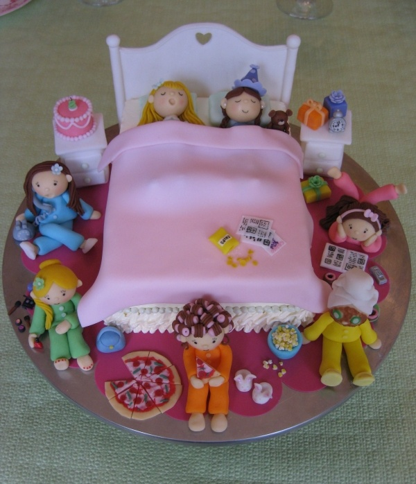 Sleepover Birthday Cakes