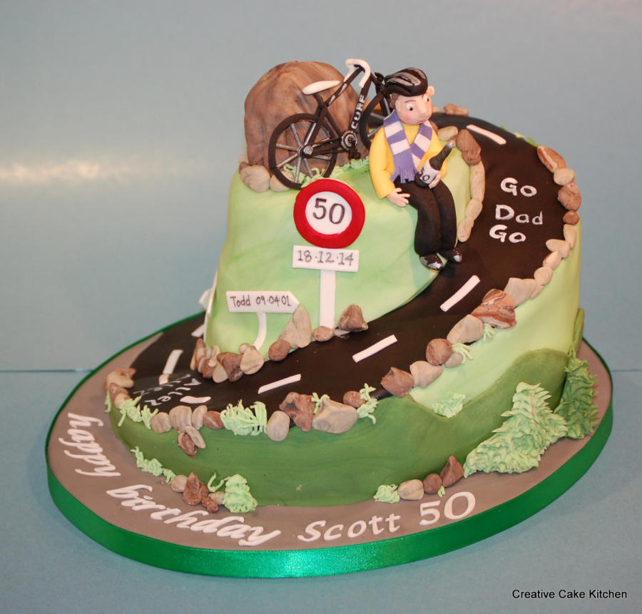 Bicycle Birthday Cakes