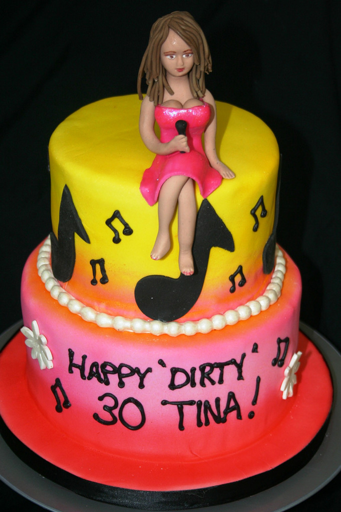 Singer Birthday Cakes