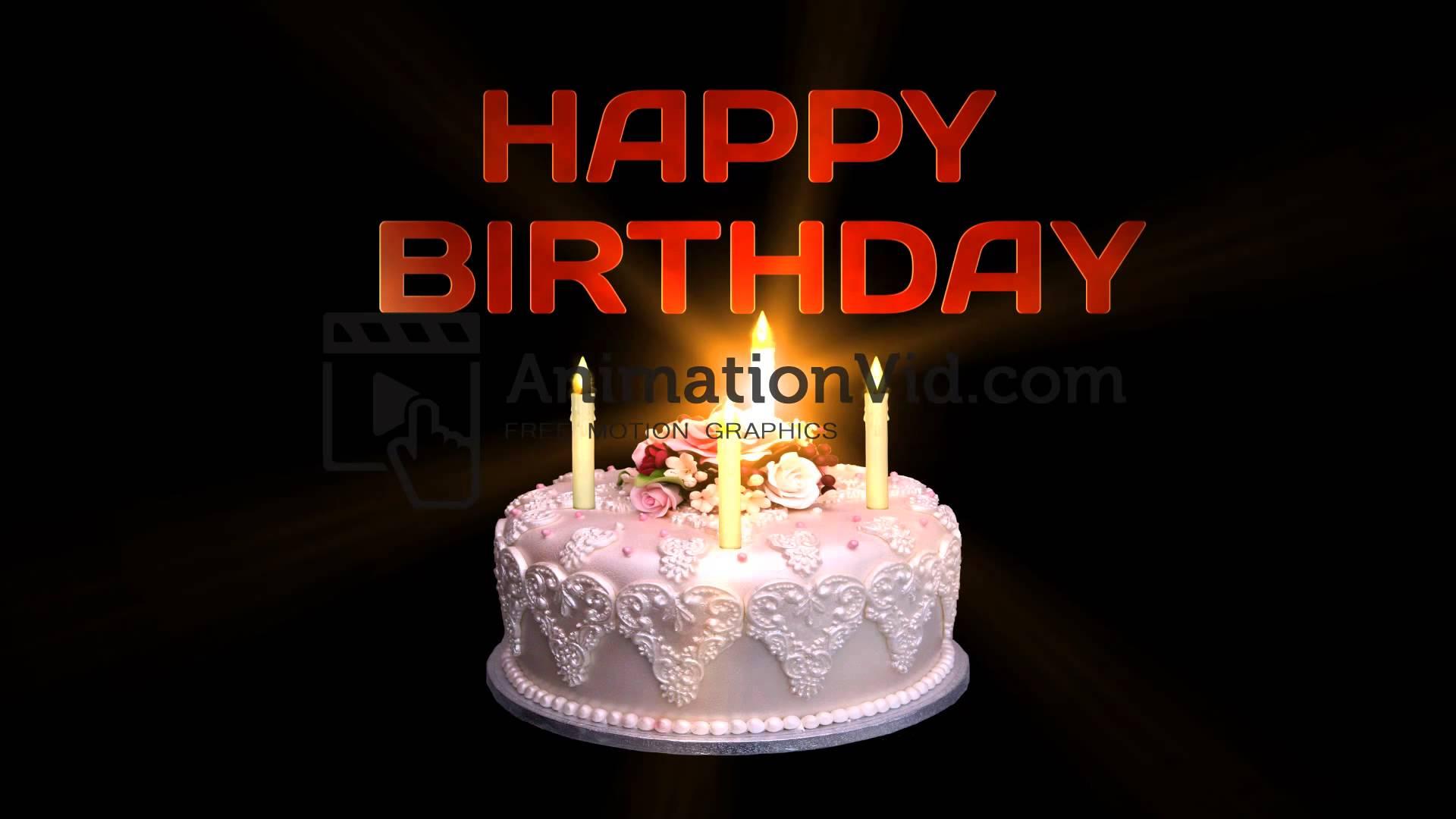 Terrific Birthday Cake Happy Birthday Cake Animation Personalised Birthday Cards Veneteletsinfo