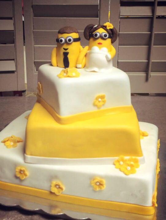 Minions Wedding Cakes