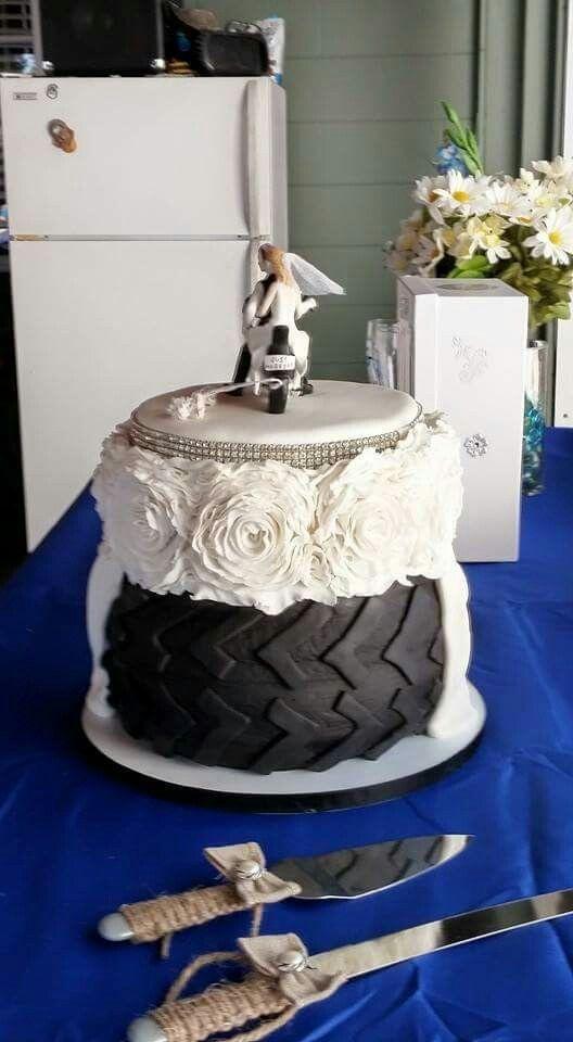 Tire Wedding Cakes