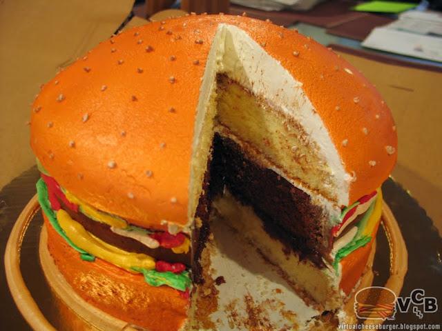 Cheeseburger Birthday Cakes
