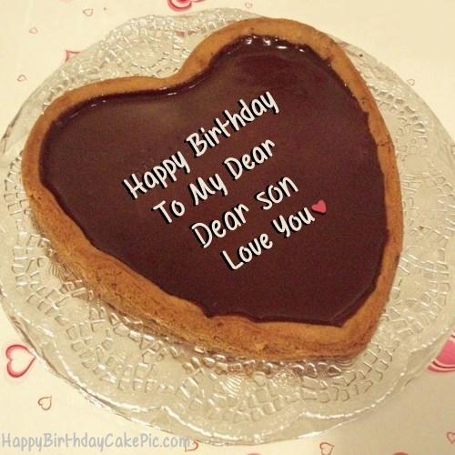 Chocolate He Birthday Cake For Lover Dear Son