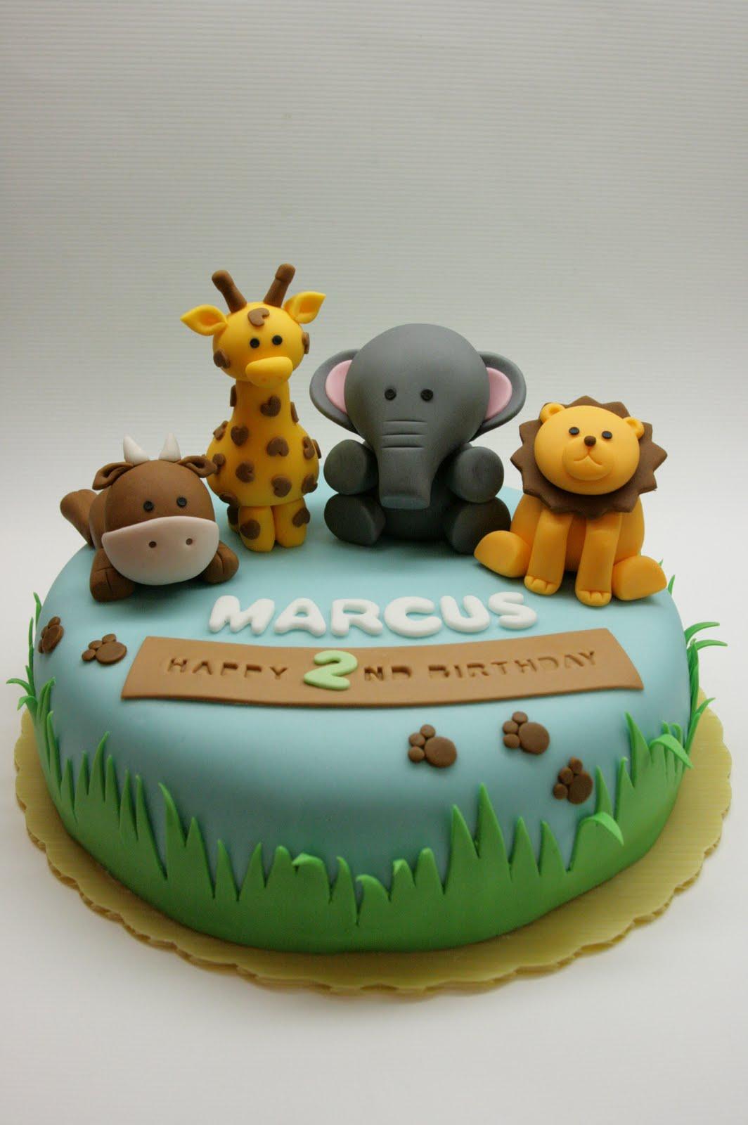 Animals Birthday Cakes
