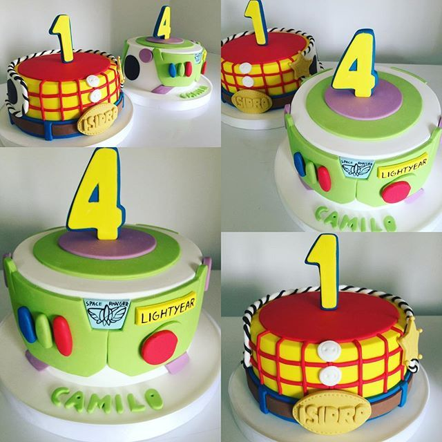 Toy Birthday Cakes